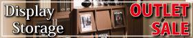 コレクション展示、ディスプレイ収納のアウトレット商品はこちら